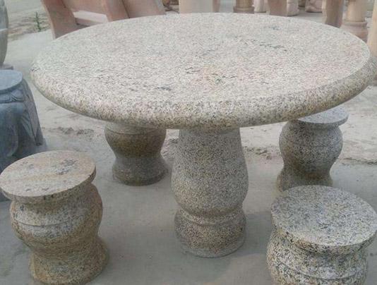威海石材坐凳