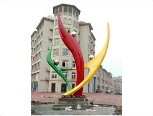聊城不锈钢雕塑舞者