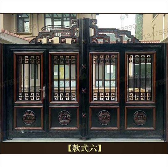 山东庭院大门