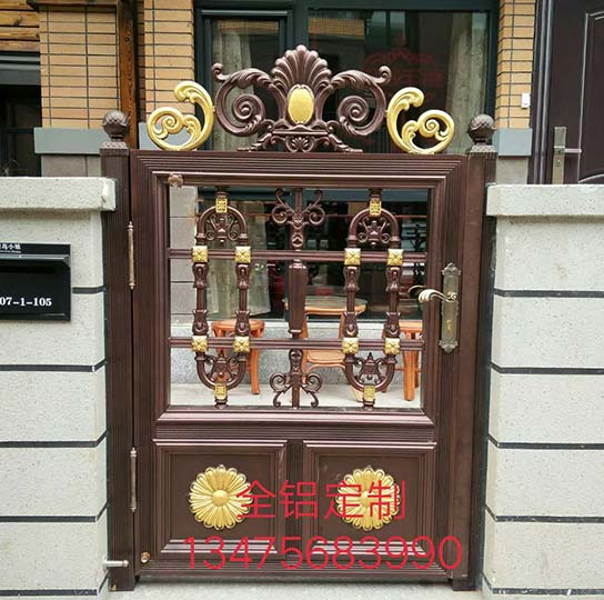 潍坊铝艺庭院小门