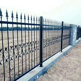 学校铁栅栏铁艺护栏