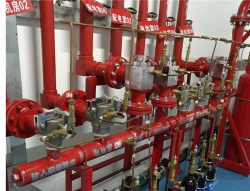 气体灭火系统改造