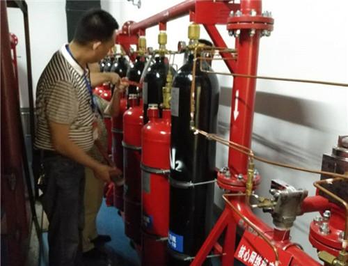 成都IG541灭火系统检测