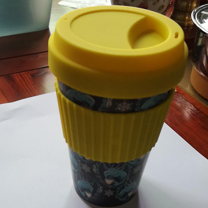 硅胶竹纤维咖啡杯