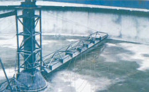 半桥周边中心传动刮泥机