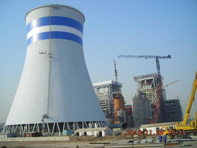 化工厂冷却塔防腐