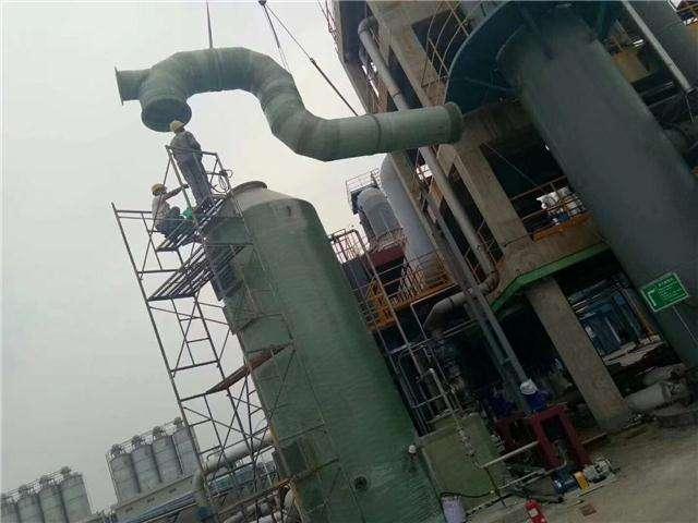 锅炉湿法烟囱脱硫防腐