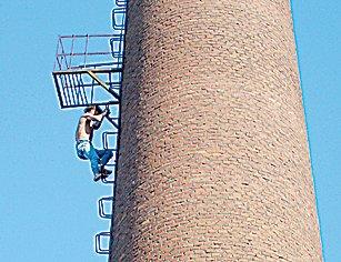 50米烟囱外壁防腐