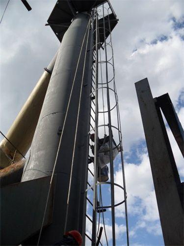 钢烟囱脱硫防腐