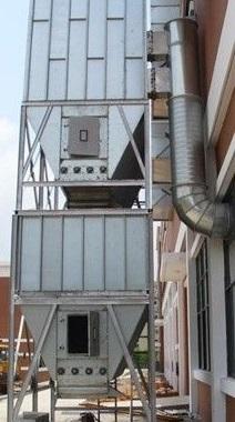 纺织业用耐高温除尘器