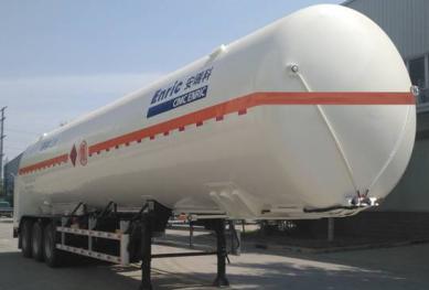 低温液体运输罐式半挂车