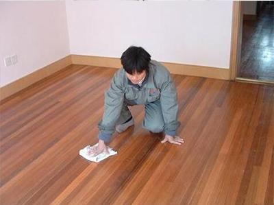 旧地板打蜡养护