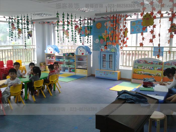 幼儿园装修因地制宜