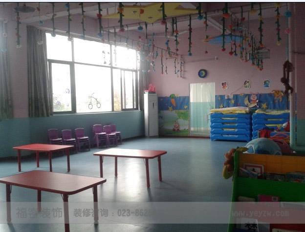 重庆小博士幼儿园装修设计