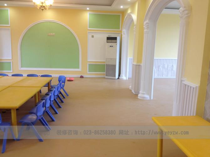 重庆幼儿园环境色彩