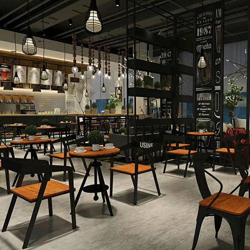 重庆餐饮装饰工业风