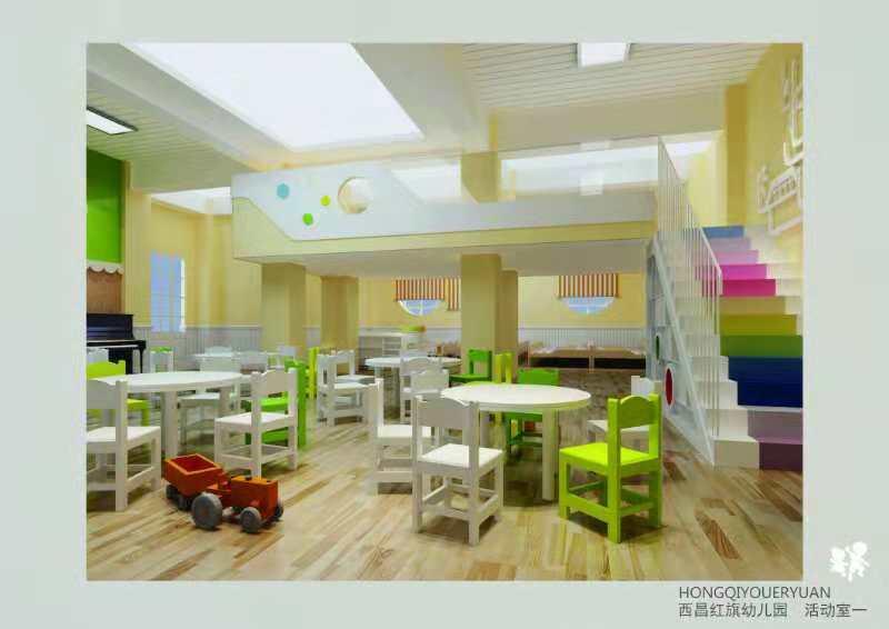 幼儿园外墙色彩装修