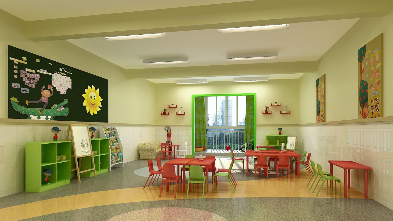 重庆幼儿园装修设计