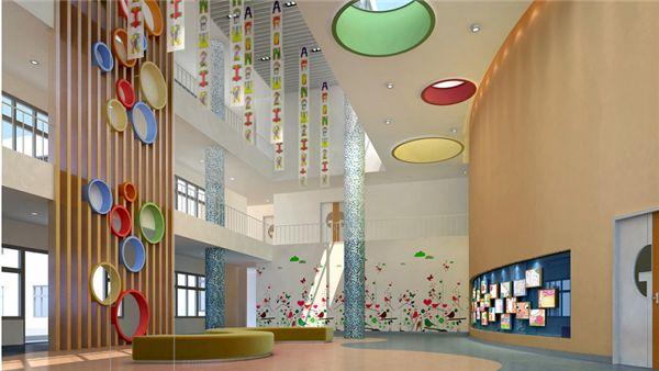 重庆幼儿园外观效果图