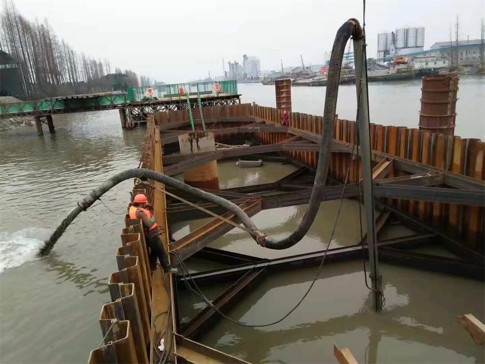 码头水下清淤