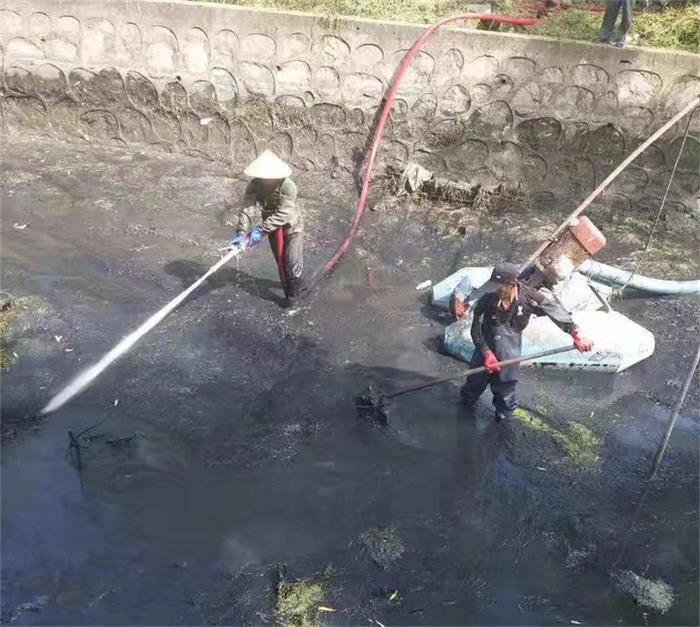 污水管水下清淤