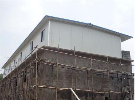 楼顶加层施工