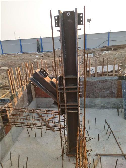 劲性钢结构施工