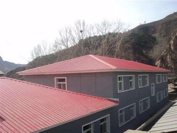 彩钢结构屋顶