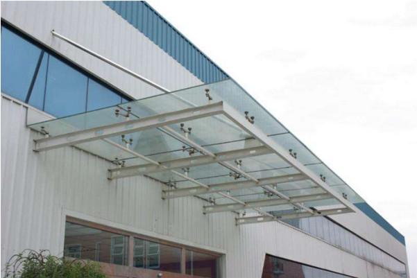 钢结构雨披安装