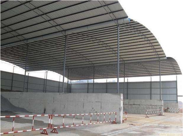 钢结构库棚施工