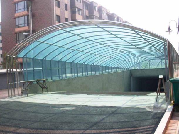 钢结构车棚施工