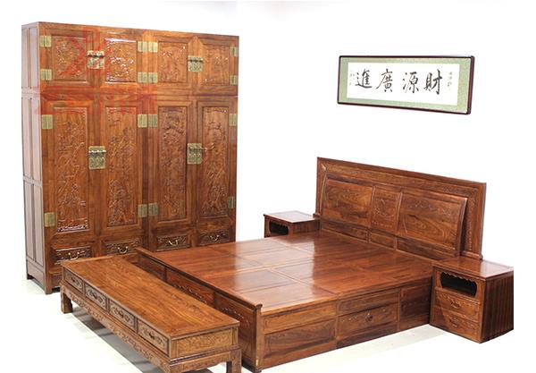 红木卧室家具