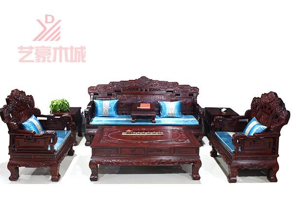 刺猬紫檀沙发