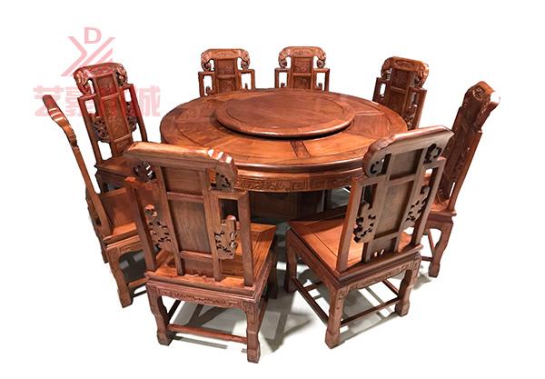 果紫檀餐桌厂家