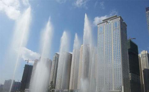 广场喷泉工程