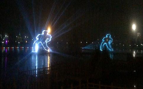 水幕激光投影