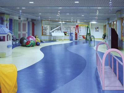 武汉幼儿园塑胶地板施工