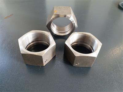 低碳钢六角螺母
