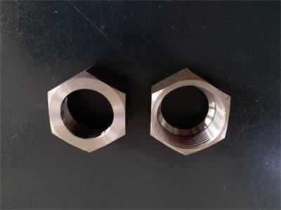 氧化发黑六角螺母