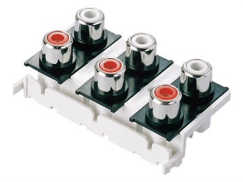 电视机AV音频视频插座