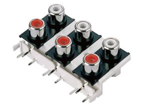 微波炉AV音频视频插座