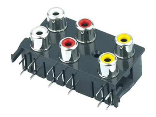 电子玩具AV音频视频插座