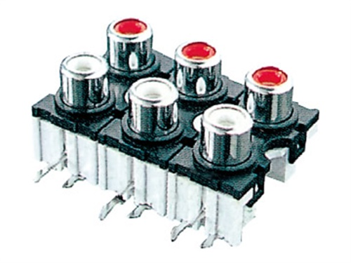 玩机机芯AV音频视频插座