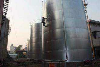 钢烟囱平台防腐
