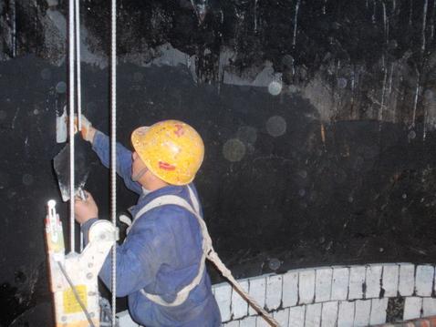 烟囱内壁防腐维修