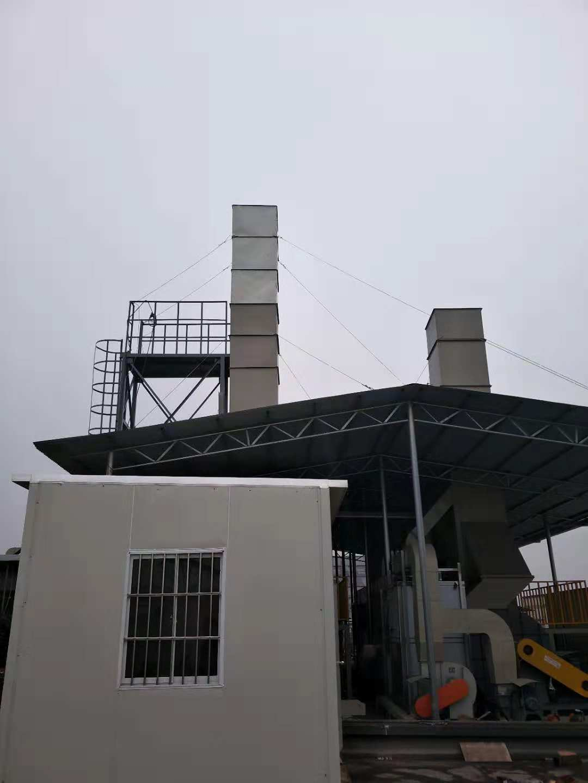 环保检测平台小屋安装