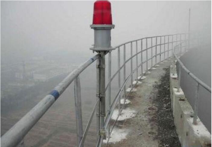 凉水塔安装航标灯