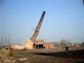 砼烟囱拆除工程