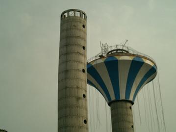 伞形水塔防腐
