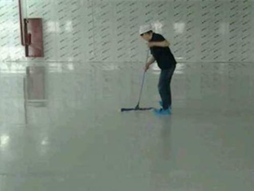 专业地板清洁